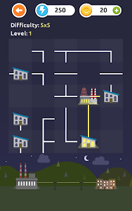 screenshot of Powerline - Logic Puzzles version 1.28