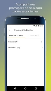 screenshot of Consultoria Natura (Pedidos) version 4.0.9
