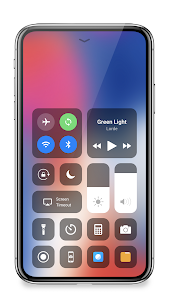 screenshot of Control Center IOS 13 - Control Center version 2.4.59