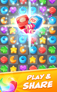 screenshot of Cookie Dash Match 3 version 2.0.0
