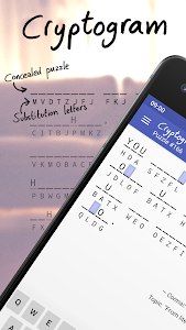 screenshot of Cryptogram version 1.12.1