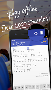 screenshot of Cryptogram version 1.11.0