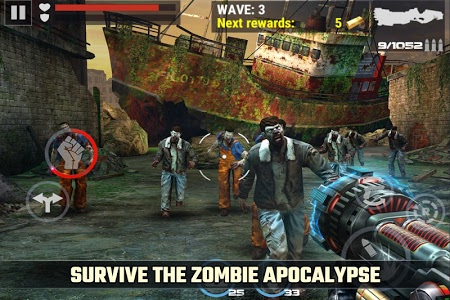 screenshot of DEAD TARGET: Zombie Offline version Varies with device