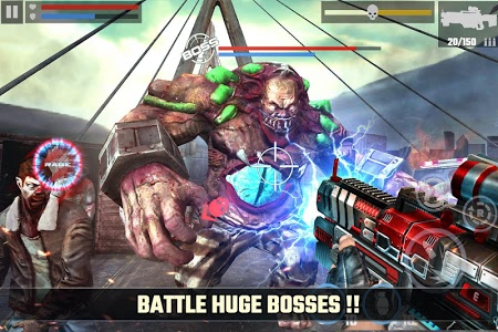 screenshot of DEAD TARGET: Offline Zombie Shooting Games version Varies with device