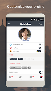 screenshot of Date in Asia - Dating & Chat For Asian Singles version 5.3.4