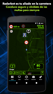 screenshot of Detector de Radares Gratis version 6.66
