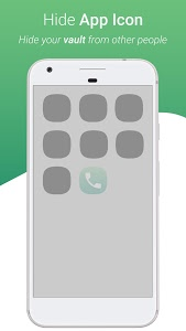 screenshot of Dialer Vault - VaultDroid Hide Photo Video OS 10 version 1.9