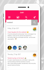 screenshot of Diary - Journal with password version 1.7.3