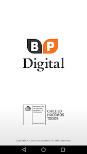 screenshot of Biblioteca Pública Digital version 3.2.0