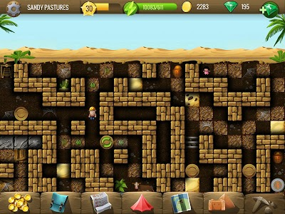 screenshot of Diggy's Adventure: Escape this 2D Mine Maze Puzzle version 1.3.242