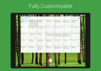 screenshot of DigiCal Calendar Agenda version 2.0.4