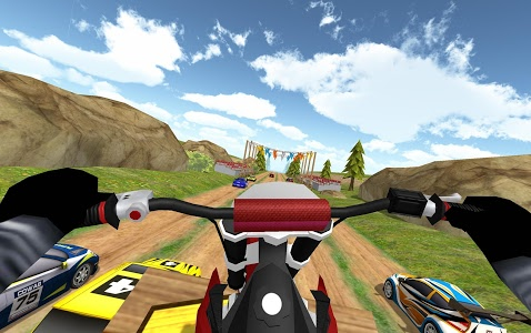 screenshot of Dirt Bike Rally Racing Turbo version 1.1