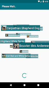 screenshot of Dog Scanner version 4.1.7-G