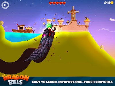 screenshot of Dragon Hills version 1.3.2