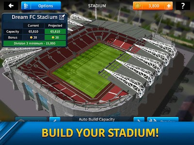 screenshot of Dream League Soccer 2019 version 6.12