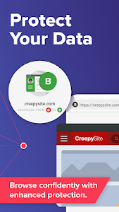 screenshot of DuckDuckGo Privacy Browser version 5.35.1