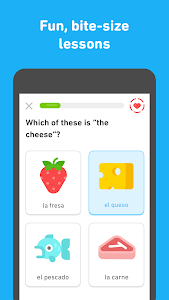 screenshot of Duolingo: Learn Languages Free version Varies with device