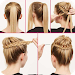 Download Easy Hairstyles Tutorials : Step by Steps 4.4.1 APK
