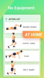 screenshot of Easy Workout - Abs & Butt Fitness,HIIT Exercises version 1.1.1