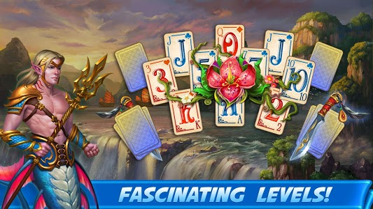 screenshot of Emerland Solitaire 2 Card Game version 34