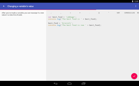 screenshot of Encode: Learn to Code version 1.3