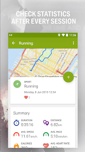 screenshot of Endomondo - Running & Walking version Varies with device