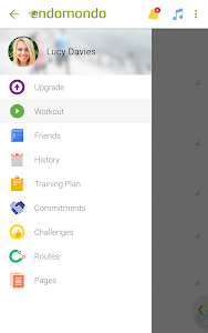 screenshot of Endomondo Running Cycling Walk version 11.1.3