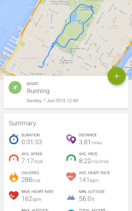 screenshot of Endomondo - Running & Walking version 16.6.2