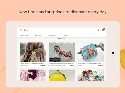 screenshot of Etsy: Handmade & Vintage Goods version 5.17.2