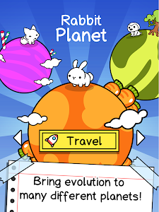 screenshot of Evolution Galaxy - Mutant Creature Planets Game version 1.6.5