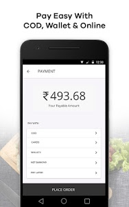 screenshot of FAASOS - Order Food Online version 5.7.7
