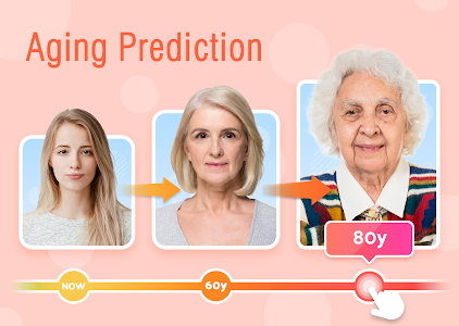 screenshot of Face Camera: Aging, Gender Test & Emotion Change version 1.3.0