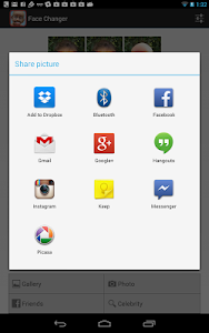 screenshot of Face Changer version Varies with device