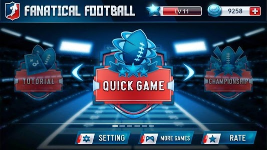 screenshot of Fanatical Football version 1.17