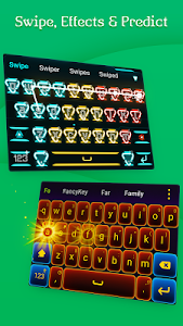 screenshot of FancyKey Keyboard - Cool Fonts, Emoji, GIF,Sticker version 3.13.3