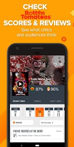 screenshot of Fandango Movie Tickets & Times version Varies with device