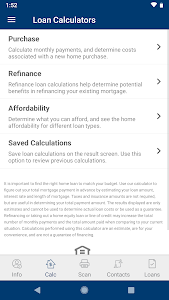 screenshot of FastApp Mortgage - ConsumersCU version 20.1.0