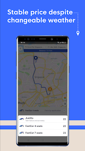 screenshot of FastGo.mobi - Ride-hailing Application version 2.0.57877
