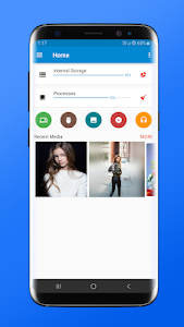 screenshot of File Manager version 1.2