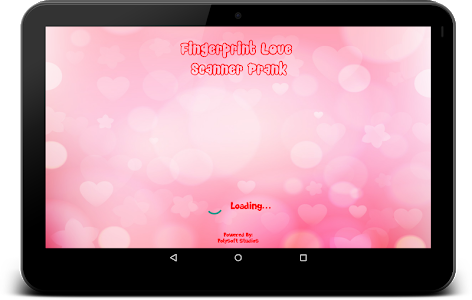 screenshot of Fingerprint Love Test Scanner Prank version Varies with device