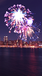 screenshot of Fireworks Show version 1.1