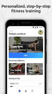 screenshot of FizzUp - Online Fitness & Nutrition Coaching version 2.10.2