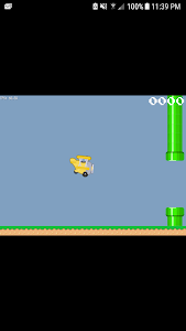 screenshot of Flappy Plane version 1.0