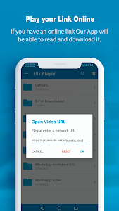 screenshot of FlixPlayer for Android version 2.2.7