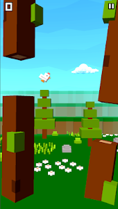 screenshot of Fly Chicken version 0.1