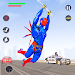 Download Flying Robot Rope Hero - Vegas Crime City Gangster 1.4 APK