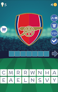screenshot of Soccer Clubs Logo Quiz version 1.3.87