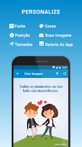 screenshot of Frases e Status version 1.5.0