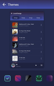 screenshot of GO Music - Free Music, Equalizer, Themes version Varies with device