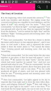 screenshot of GOOD NEWS BIBLE (ENGLISH) version 50